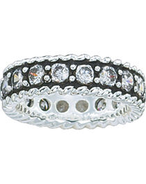 Montana Silversmiths Women's Eternity Band Ring, , hi-res