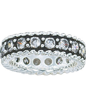 Montana Silversmiths Women's Eternity Band Ring, Silver, hi-res