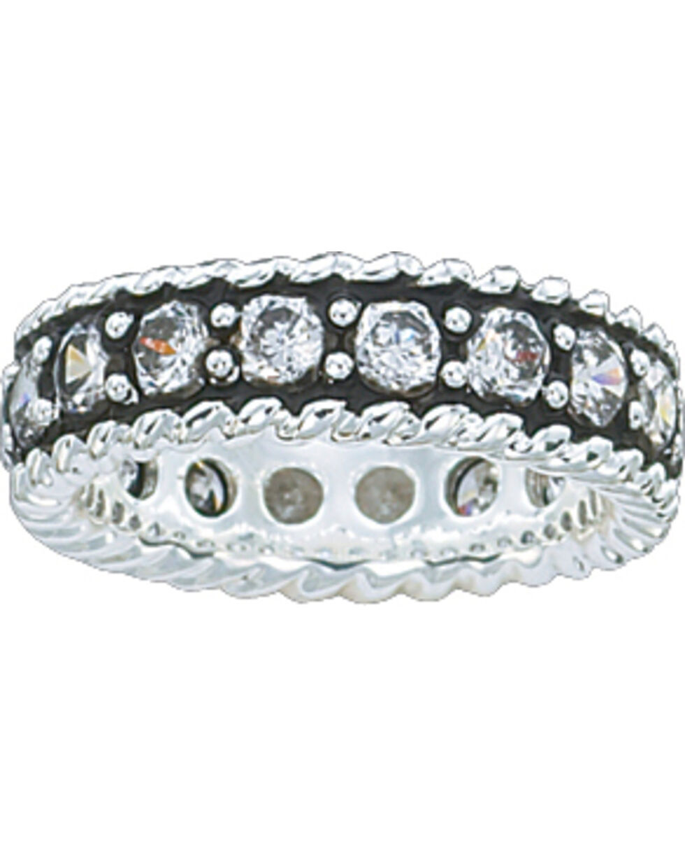 Montana Silversmiths Women's Eternity Band Ring, Silver, hi-res