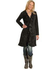 Scully Women's Ruffle Coat, , hi-res