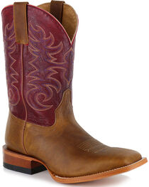 Cody James Men's Brown Xala Western Boots - Square Toe, , hi-res