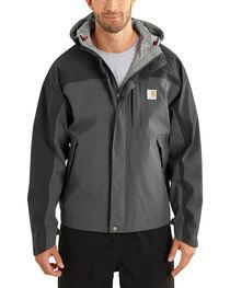 Carhartt Men's Grey Shoreline Vapor Waterproof Jacket, , hi-res