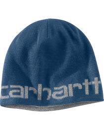 Carhartt Men's Dark Blue Greenfield Reversible Hat, , hi-res