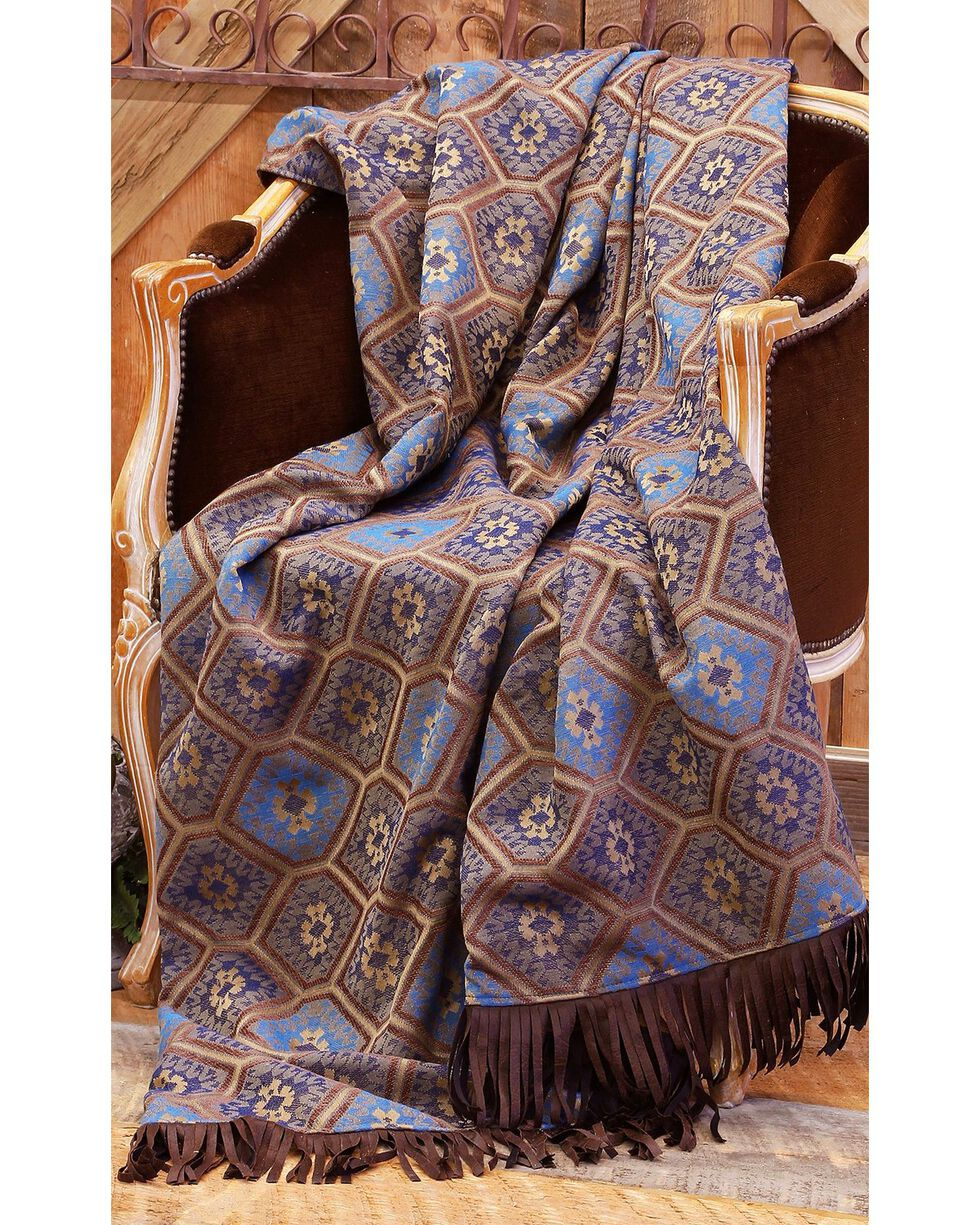 Carstens Saguaro Desert Throw Blanket, Multi, hi-res