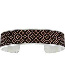 Montana Silversmiths CrossCut Banded Mosaic Bracelet, , hi-res