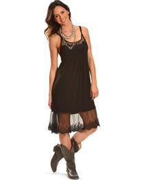 Angel Ranch Women's Black Endless Summer Dress , , hi-res