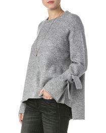 Miss Me Women's Grey Lure Me In Sweater , , hi-res