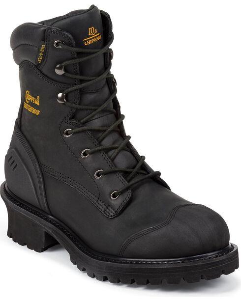 Chippewa Men's Toe Composite Logger Work Boots, , hi-res