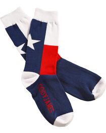 Cody James Men's Texas Flag Crew Socks , , hi-res