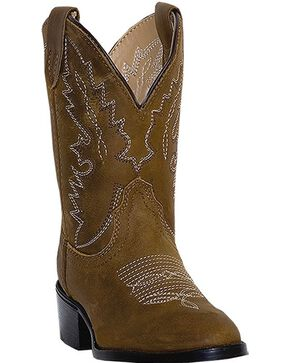 Dan Post Infant's Shane Western Boots, Brown, hi-res