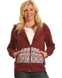 Outback Trading Co. Women's Willa Zip Front Hoodie, , hi-res