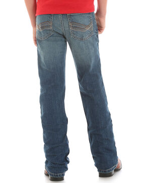 Wrangler Boys' (8-18) Retro Mae Vintage Boot Cut Jeans - Husky , Indigo, hi-res