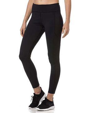 Miss Me Women's Athletic Leggings, Black, hi-res