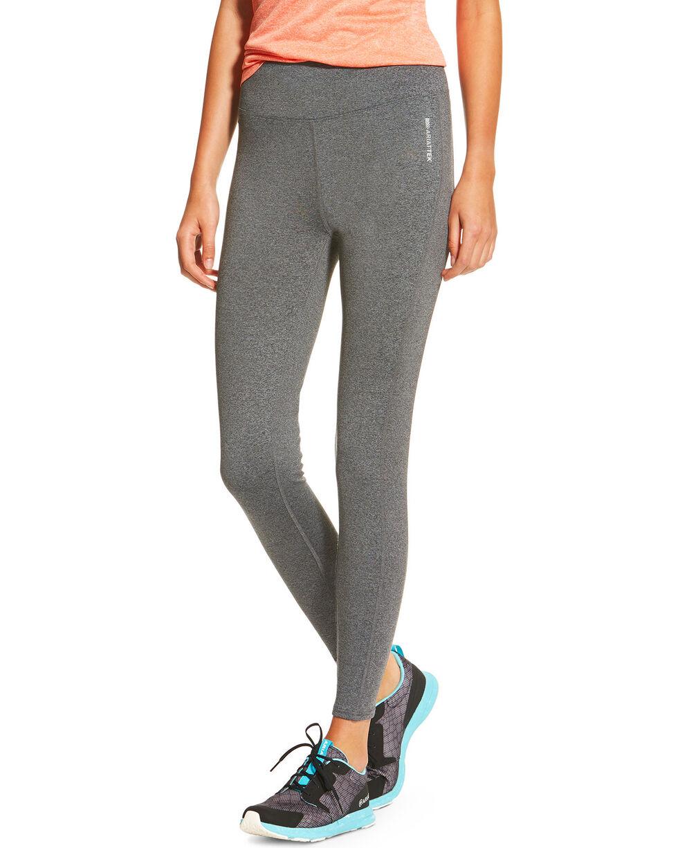 AriatTek Women's Circuit Leggings, Charcoal, hi-res