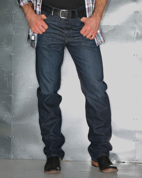Garth Brooks Sevens by Cinch Men's Every Day Boot Cut Jeans, Indigo, hi-res
