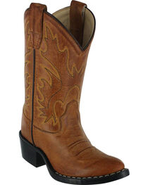 Cody James Boys' Western Boots - Pointed Narrow Toe , , hi-res