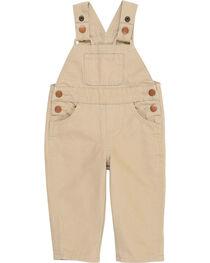 Wrangler® Toddler Boy's Tan Baby Bib Overalls , , hi-res