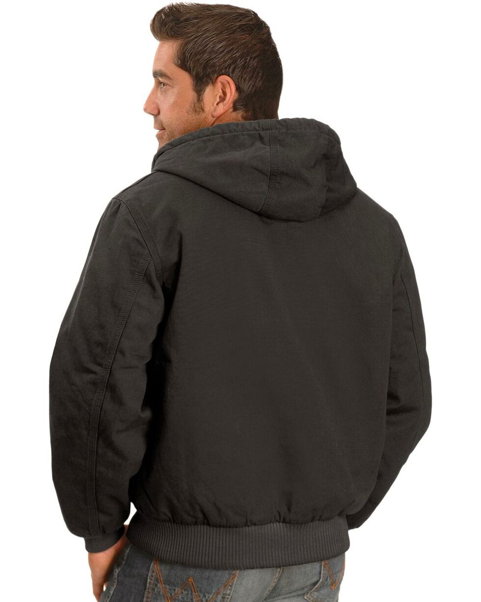 Carhartt Black Ripstop Active Jacket, Black, hi-res