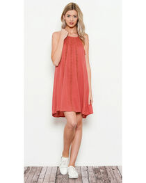 Illa Illa Women's Sleeveless Dress with Lace Detail, , hi-res