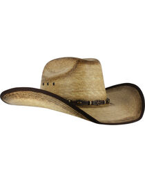 Cody James® Men's Ponderosa Straw Hat, , hi-res