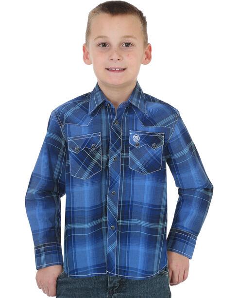 Wrangler Boys' Assorted Retro Long Sleeve Shirts , Multi, hi-res