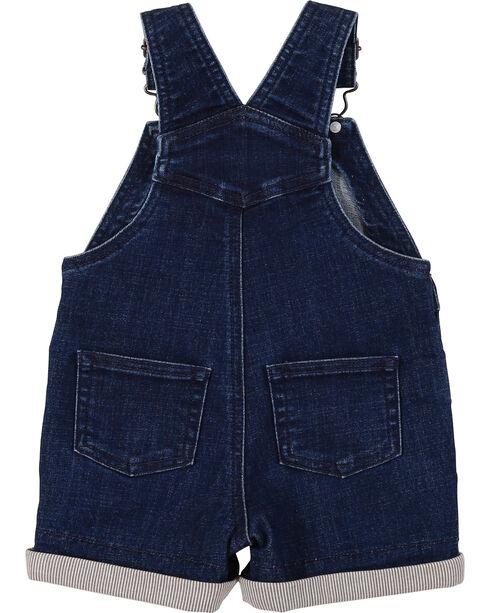 Wrangler Toddler Boys' Indigo Denim Shorttall Overalls, Indigo, hi-res