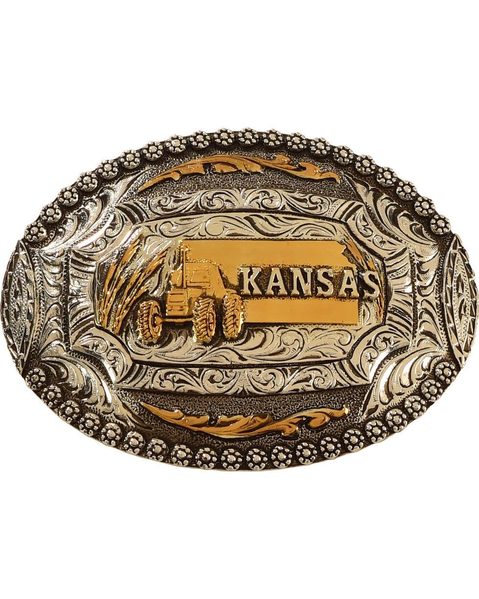 Cody James® Kansas Belt Buckle, Multi, hi-res
