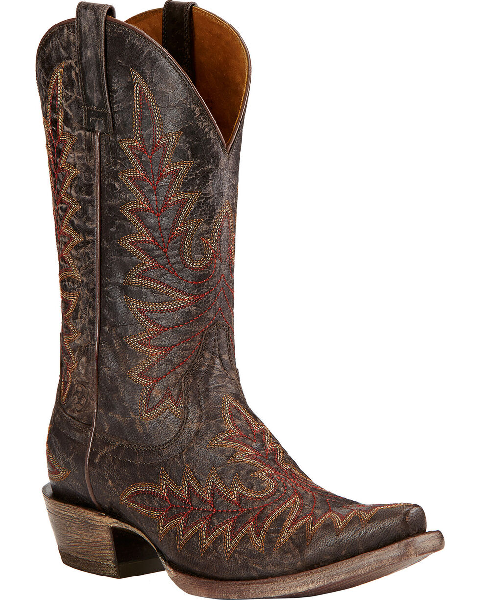 Ariat Women's Brooklyn Western Boots, Coffee, hi-res