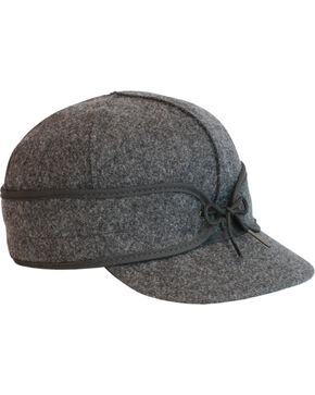 Stormy Kromer Men's Charcoal Original Cap, Charcoal Grey, hi-res