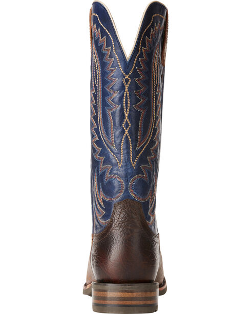 Ariat Men's Palo Duro Western Boots, Brown, hi-res