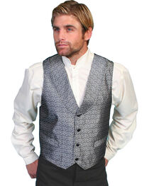 Rangewear by Scully Men's Silver Spring Vest, Silver, hi-res
