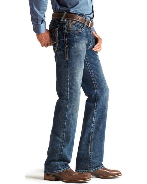Ariat Men's Blue M2 Boundary Gulch Jeans - Boot Cut , Blue, hi-res
