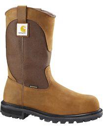 Carhartt Waterproof Wellington Pull-On Work Boots - Steel Toe, , hi-res