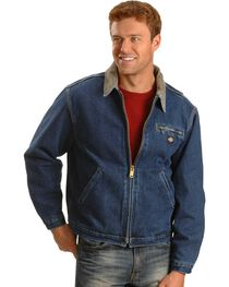Dickies Corduroy Collar Denim Jacket, , hi-res