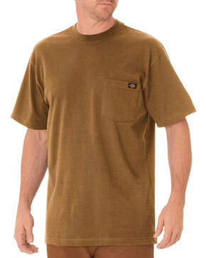 Dickies Men's Heavy Weight Short Sleeve Tee, Pecan, hi-res