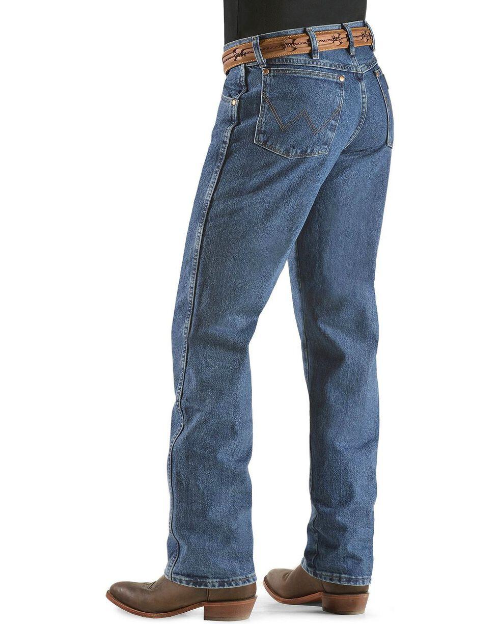 Wrangler Men's Relaxed Cowboy Cut Western Jeans, Stonewash, hi-res