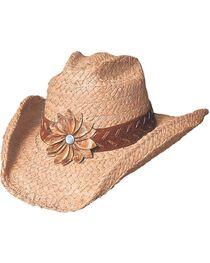 Bullhide Women's Sunset Straw Hat, , hi-res