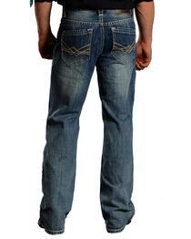 Rock & Roll Cowboy Men's Cannon Light Wash Jeans -  Boot Cut , , hi-res