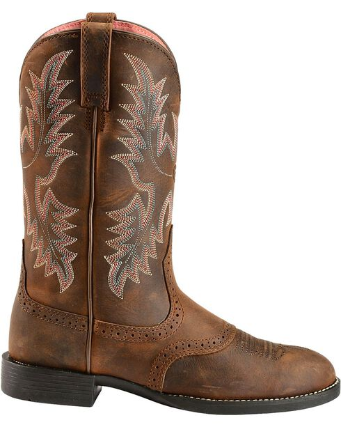 "Ariat Women's Stockman 11"" Western Boots, Driftwood, hi-res"