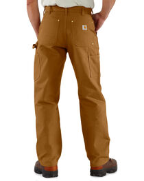 Carhartt Double Front Duck Utility Dungaree Work Pants - Big & Tall, , hi-res