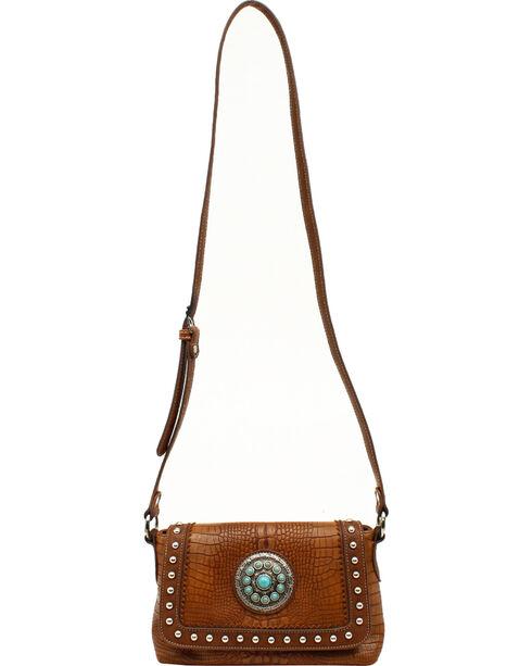 Blazin Roxx Charlotte Crossbody Bag, Brown, hi-res