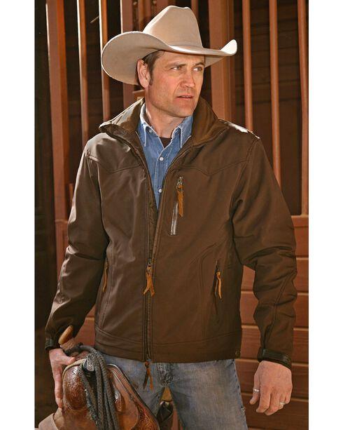 STS Ranchwear Men's Young Gun Jacket, Brown, hi-res
