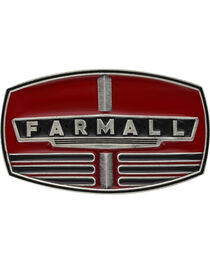 Montana Silversmiths Men's Case IH Farmall Red Grill Buckle , , hi-res