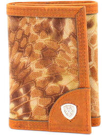 Ariat Trifold Kryptek Camo Wallet, , hi-res