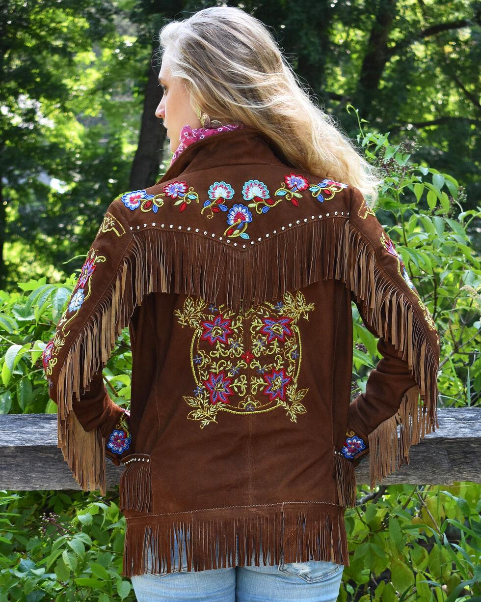 Tasha Polizzi Women's Gallop Jacket, Brown, hi-res