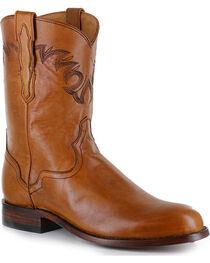 El Dorado Men's Embroidered Round Toe Western Boots, , hi-res