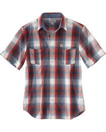 Carhartt Men's Plaid Short Sleeve Shirt, , hi-res