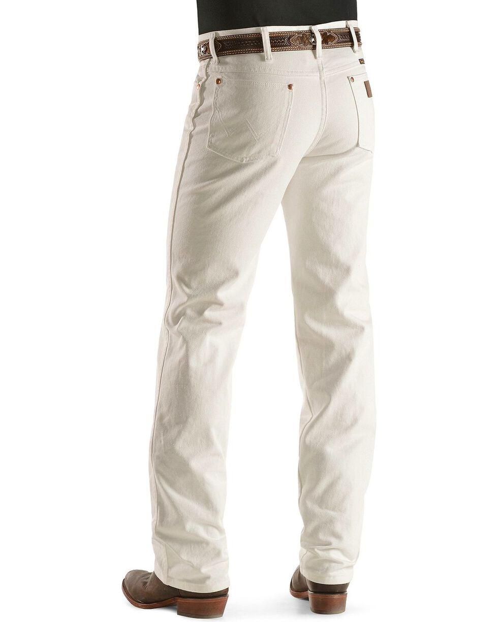 Wrangler Men's Slim Fit 936 Cowboy Cut Jeans, White, hi-res