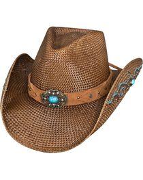 Bullhide Women's Amnesia Straw Hat, , hi-res
