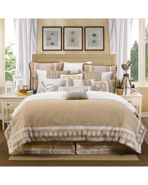 HiEnd Accents Cream Newport Duvet Cover Set - King, , hi-res